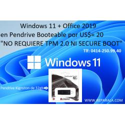 Windows 11 Pro+ office 2019...